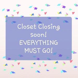 Closet Closing! Bundle to save!